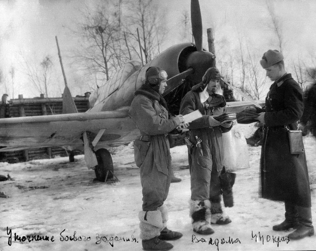 Szuhoj Szu-2 és személyzete Valdoma térségében 1944-ben #moszkvater