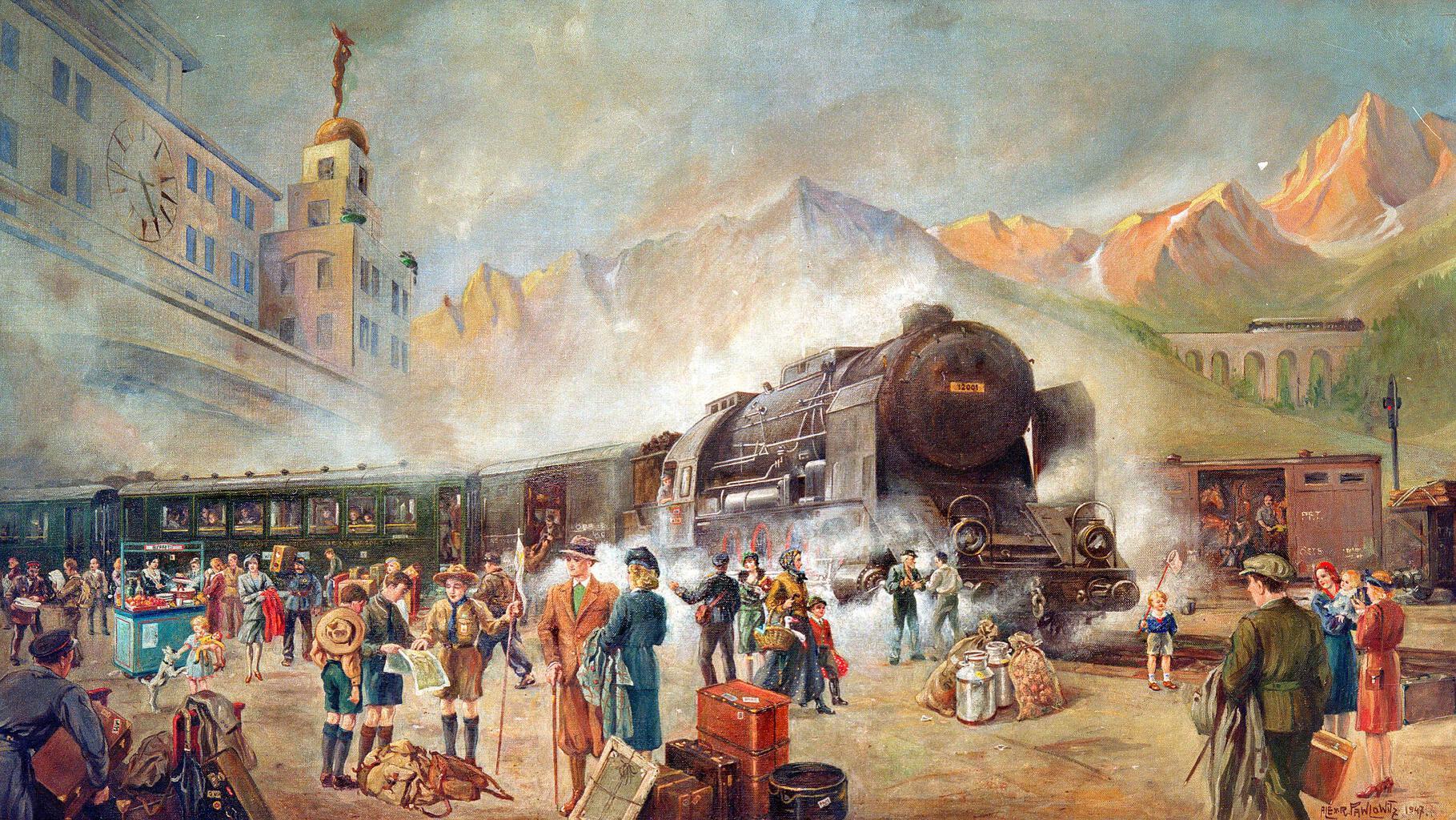 1883. június 5-én indult első útjára az azóta is közlekedő Orient expressz #moszkvater