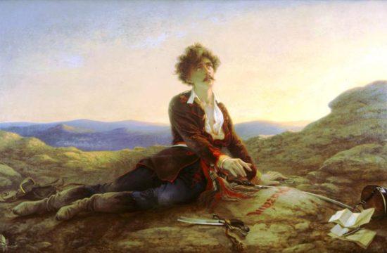 Petőfi halála, Madarász Viktor festménye (1875) #moszkvater