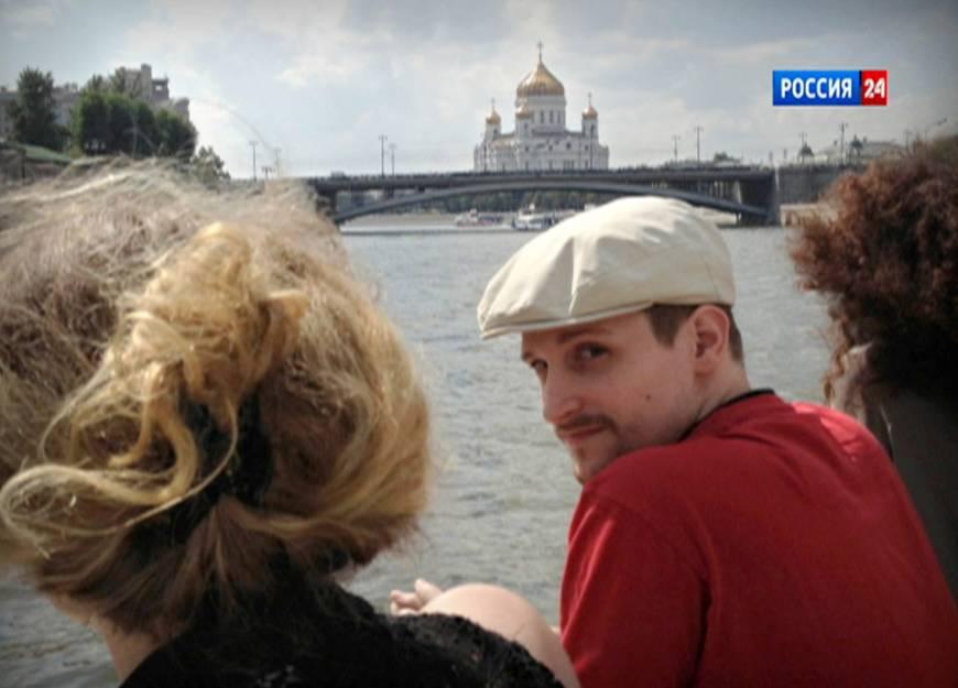 Snowden Moszkvában, a Moszkva folyó partján #moszkvater