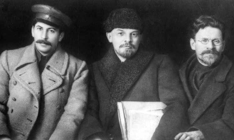 Sztálin, Lenin és Kalinyin 1919-ben #moszkaveter