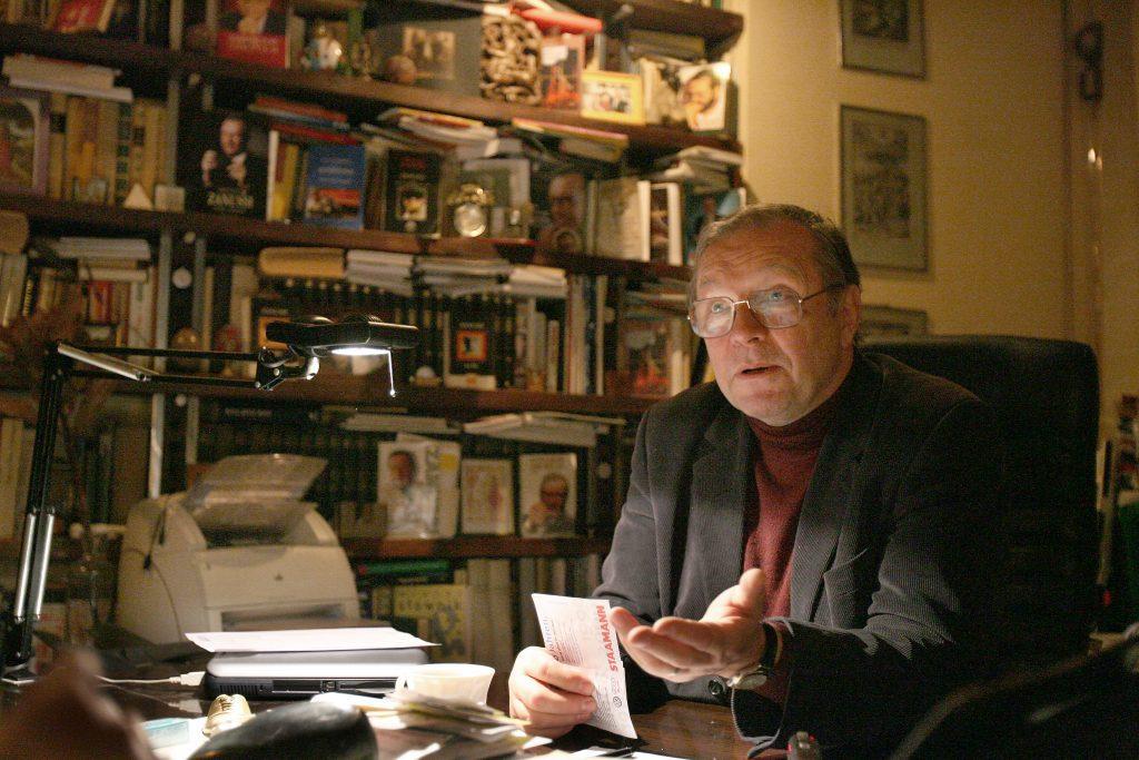 Krzysztof Zanussi Fotó:Tóth Tibor #moszkvater