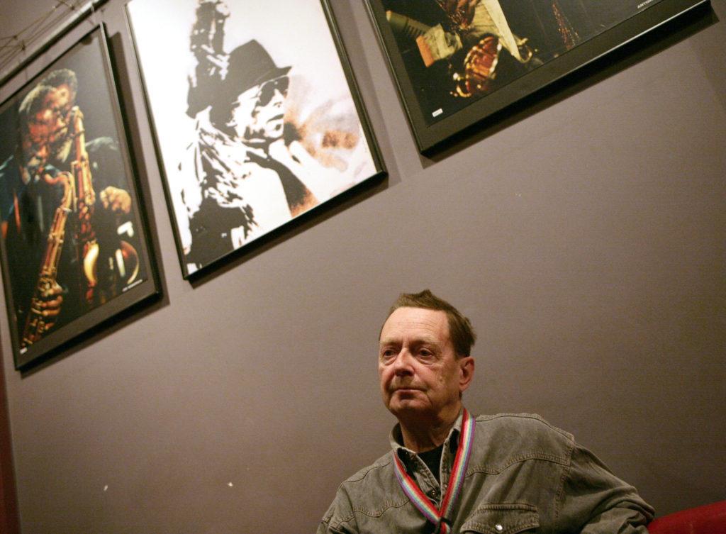 Zbigniew Namyslowsky a varsói Tygmont jazz klubban 2008. novemberében Fotó:Tóth Tibor #moszkvater