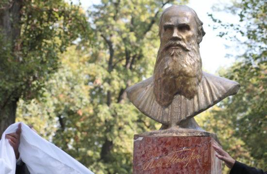 Tolsztoj szobor #moszkvater