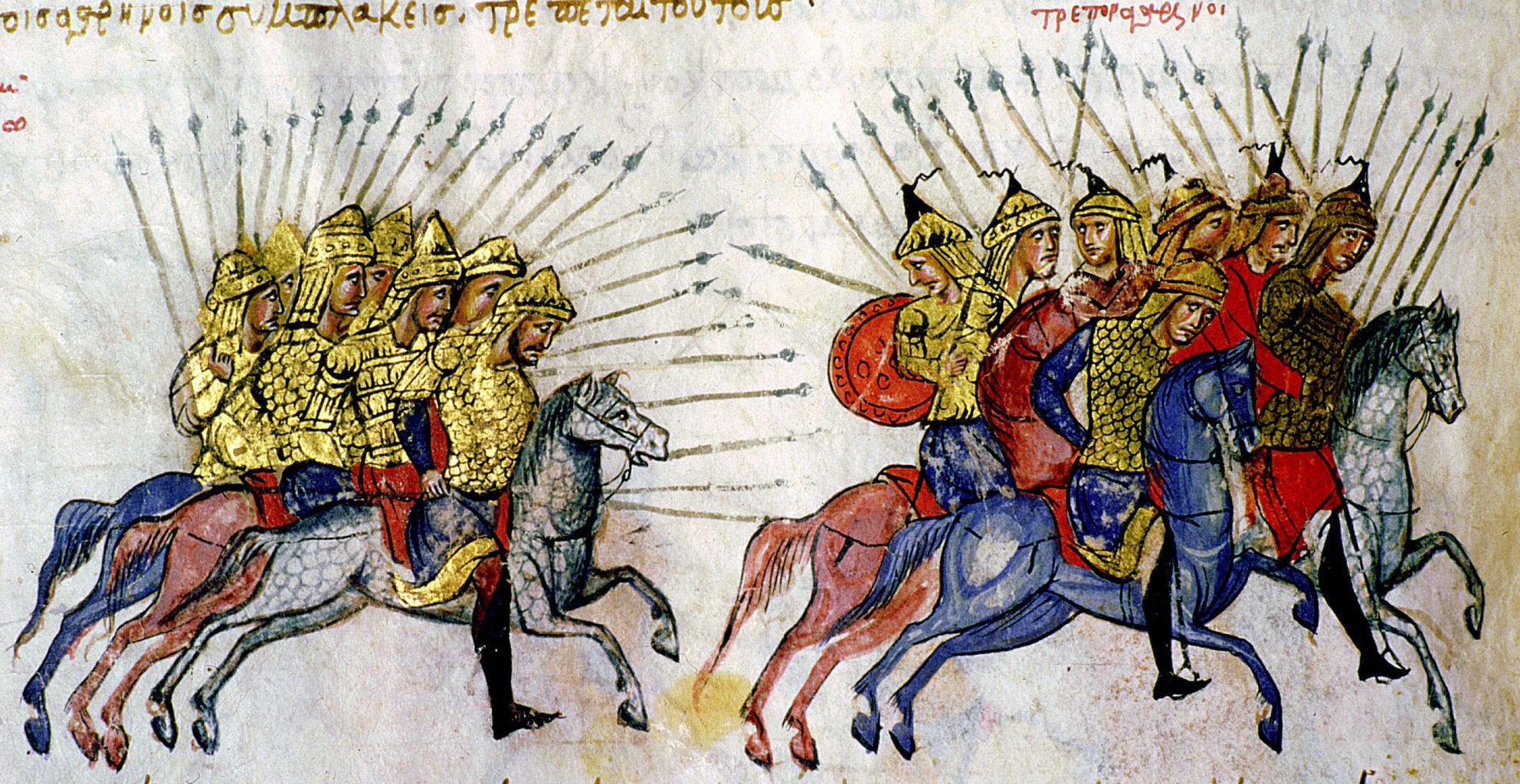 a bolgárok szárazföldi győzelmének köszönhetően hét évszázadra elhárult az iszlám kelet felőli támadásának a veszélye #moszkvater