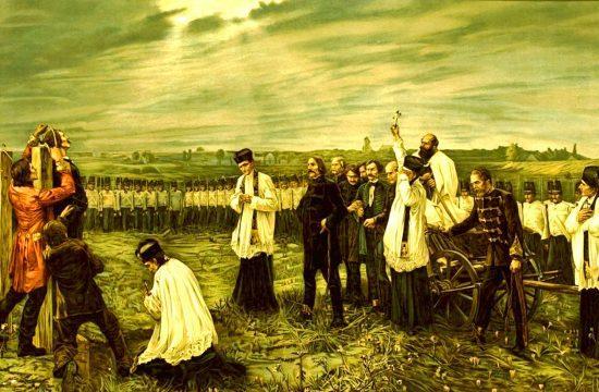 Thorma János: Aradi vértanúk (Október hatodika), 1893-96 - Olaj, vászon #moszkvater