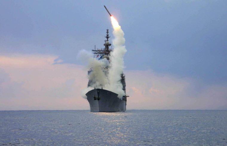 Az amerikai rakétavédelmi rendszer rakétái is képesek támadó Tomahawk rakéták kilövésére #moszkvater