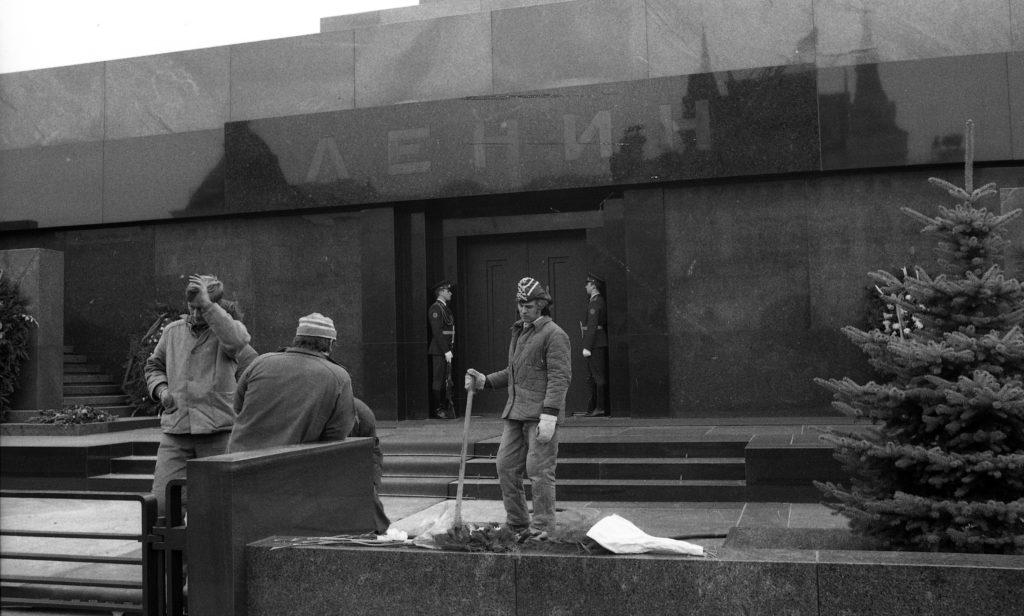 Moszkvai hétköznap a Vörös téren 1975-ben #moszkvater