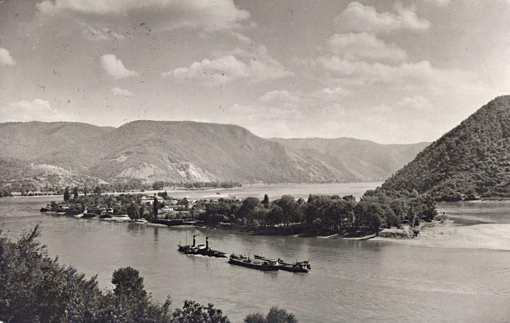 A Duna a Vaskapu-szorosnál 1949-ben #moszkvater