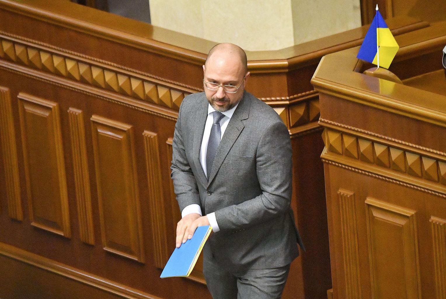 Denisz Smihal az ukrán parlamentben tartott beszéde után 2020. március 4-én #mpszkvater
