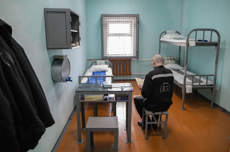Egy átlagos cella a rotmai, Mordáviában található börtönben #moszkvater