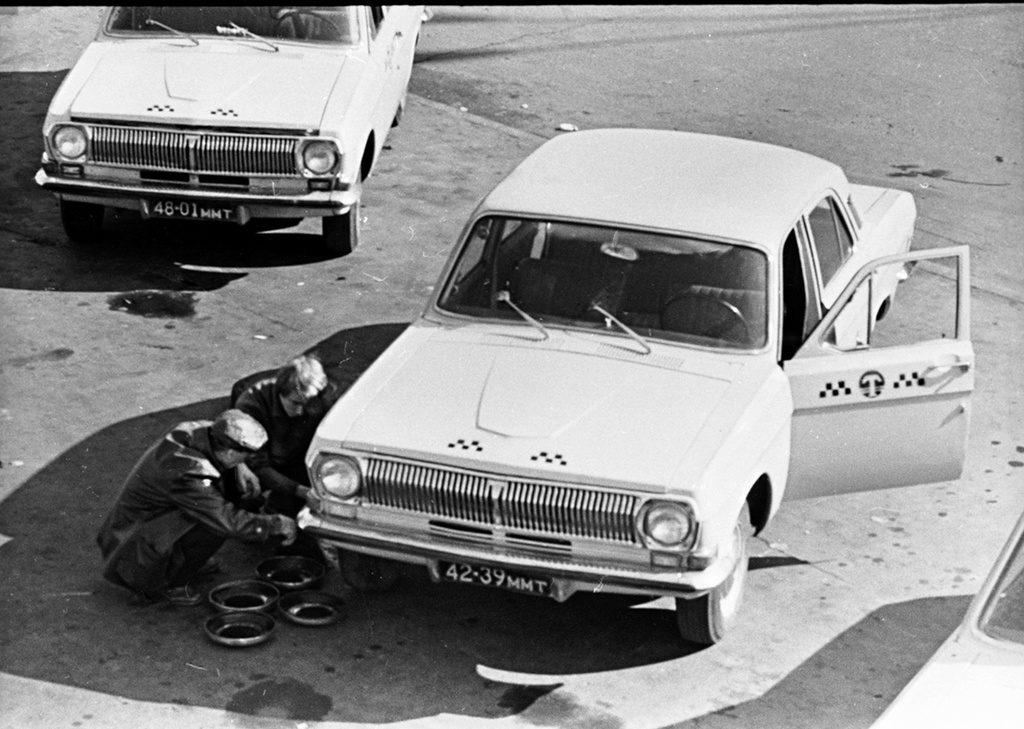 Moszkvai taxisok a 80-as években #moszkvater