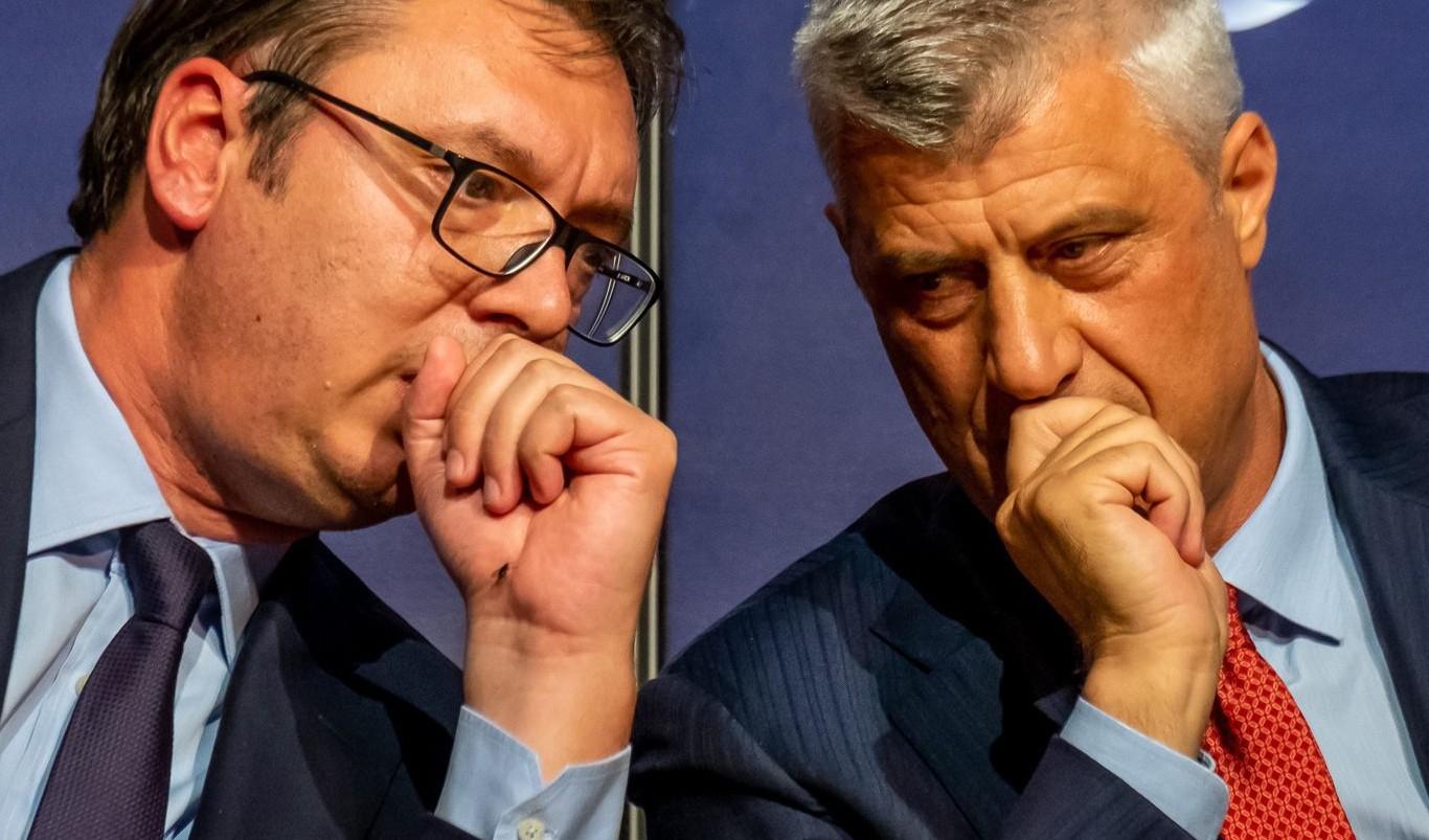 """""""A fentiek alapján Thaçit nem kellett megdolgozni. Vucsics viszont biztos, ami biztos, mégis készült a washingtoni """"deal""""-re"""" #moszkvater"""